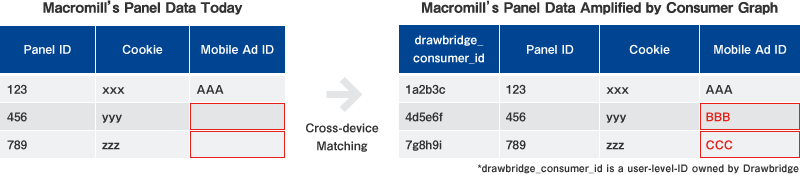 Figure 1. Cross-device matching with Consumer Graph